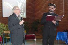 Uroczystości 10-cio lecia Gimnazjum nr 5 im. Arkadego Fiedlera w Lesznie, 05.03.2010 r.