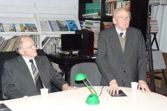 Zygmunt Pniewski i promocja książki prof. Leszka Bergera Chrońmy europejskie żaby zielone, 12.05.2008 r.
